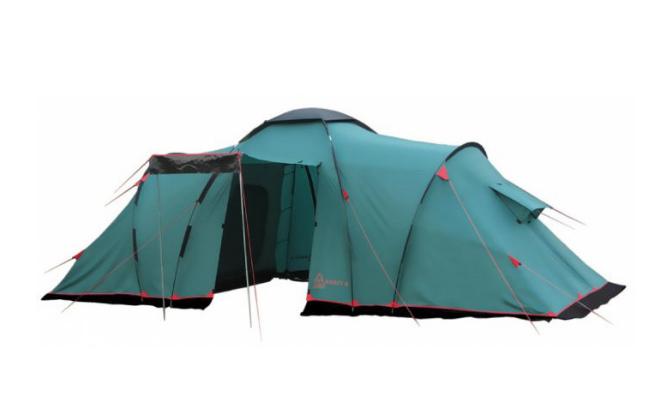 Кликните по палатке для перехода
