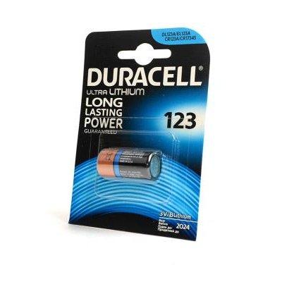Батарея питания Duracell Ultra CR123A BL1