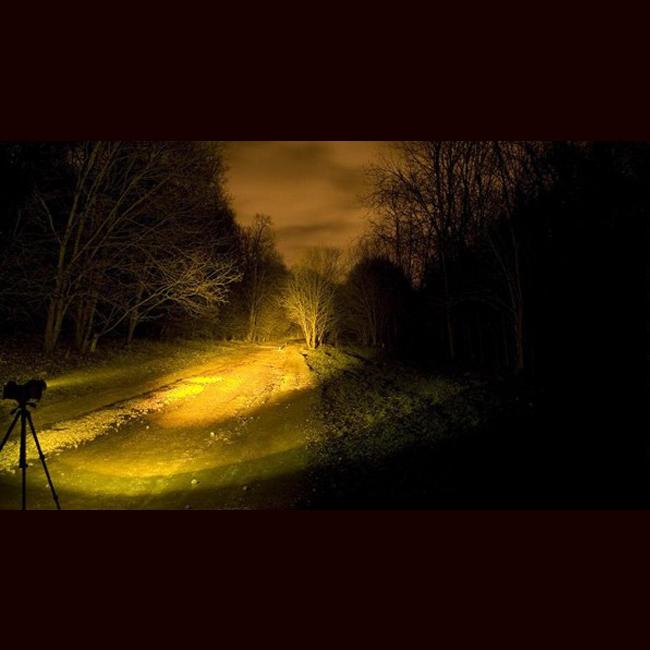 Желтый фильтр для фонаря