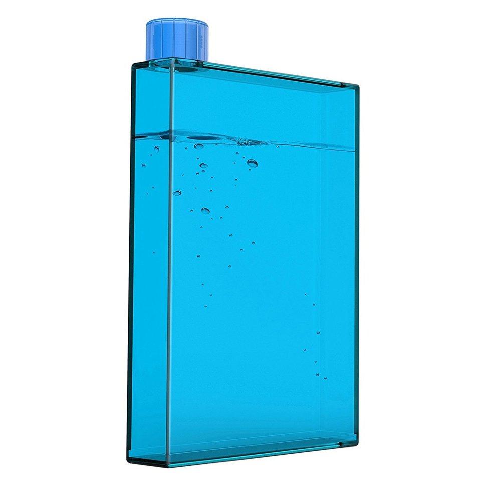 Фляга Asobu My pad bottle, 0.475 л (голубая, прозрачная, красная, серая)