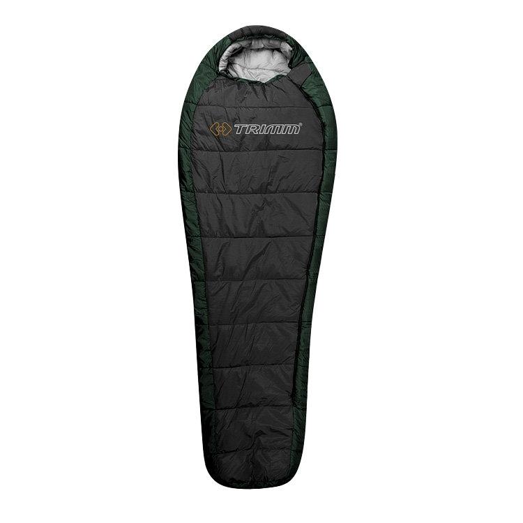 Спальный мешок Trimm Trekking HIGHLANDER, зеленый, 185 L