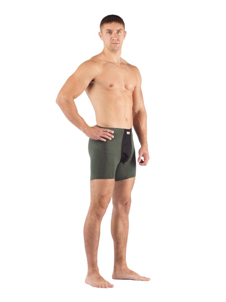 Шорты мужские Lasting NICO+, зеленые