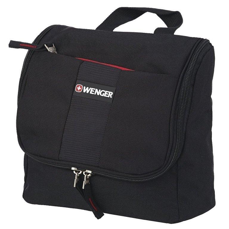Дорожная сумка Wenger, черная, полиэстер, (608510)