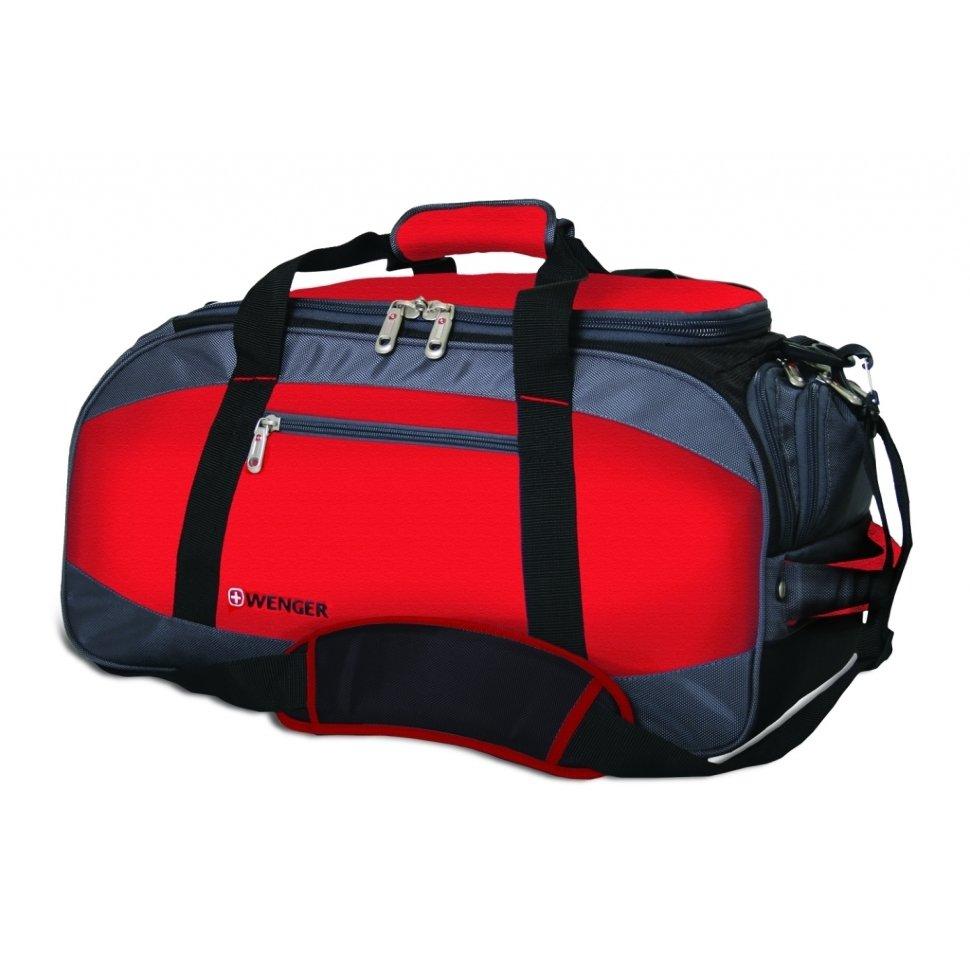 Сумка спортивная Wenger Mini Soft Duffle, красный (52744165)