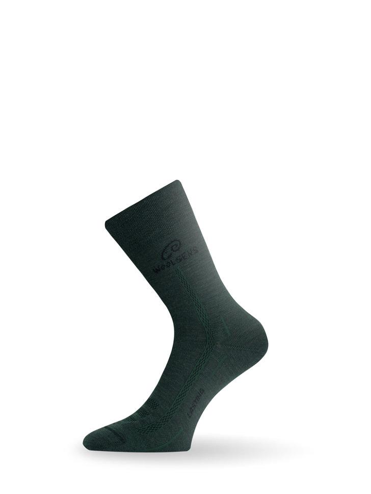 Носки Lasting WLS, зеленые