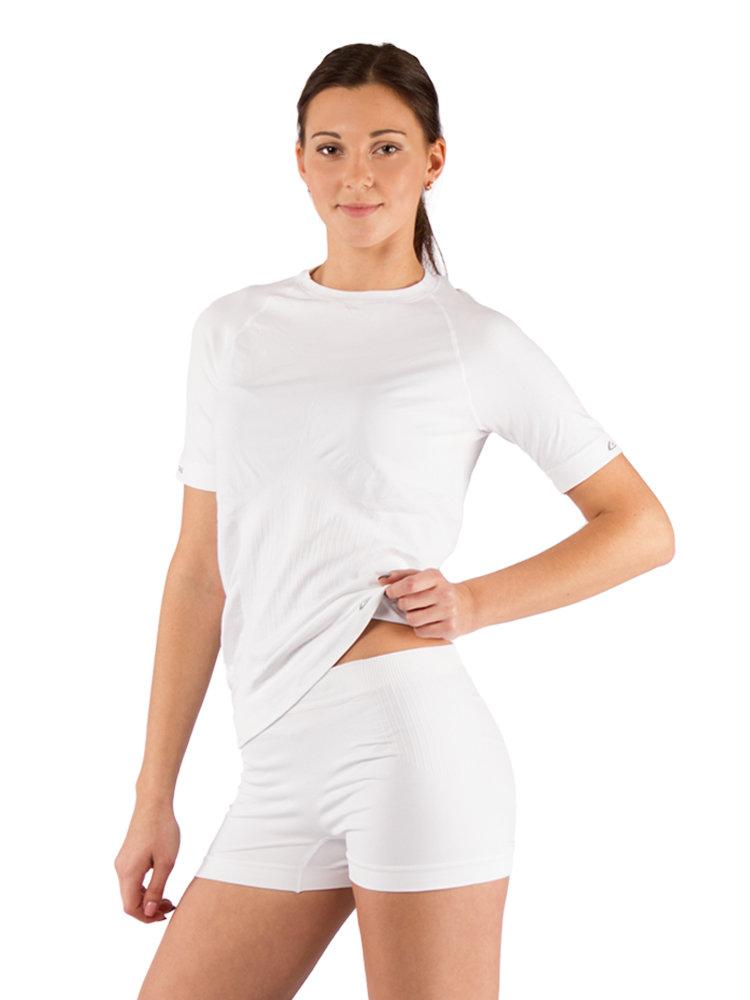 ≡ Футболка женская Lasting ALBA, белая – купить по лучшей цене в ... fb036add10c