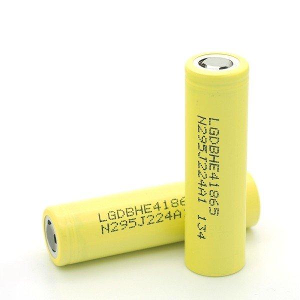 Аккумулятор LG IMR 18650 3.7v 2500mAh, без защиты