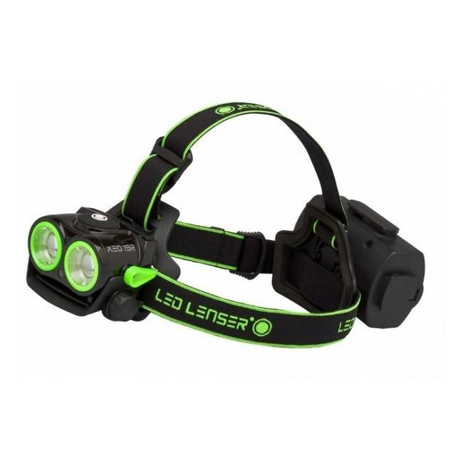 Фонарь Led Lenser XEO 19R (зеленый, белый, черный)