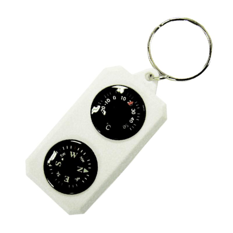 Компас-брелок Sol с термометром SLA-003