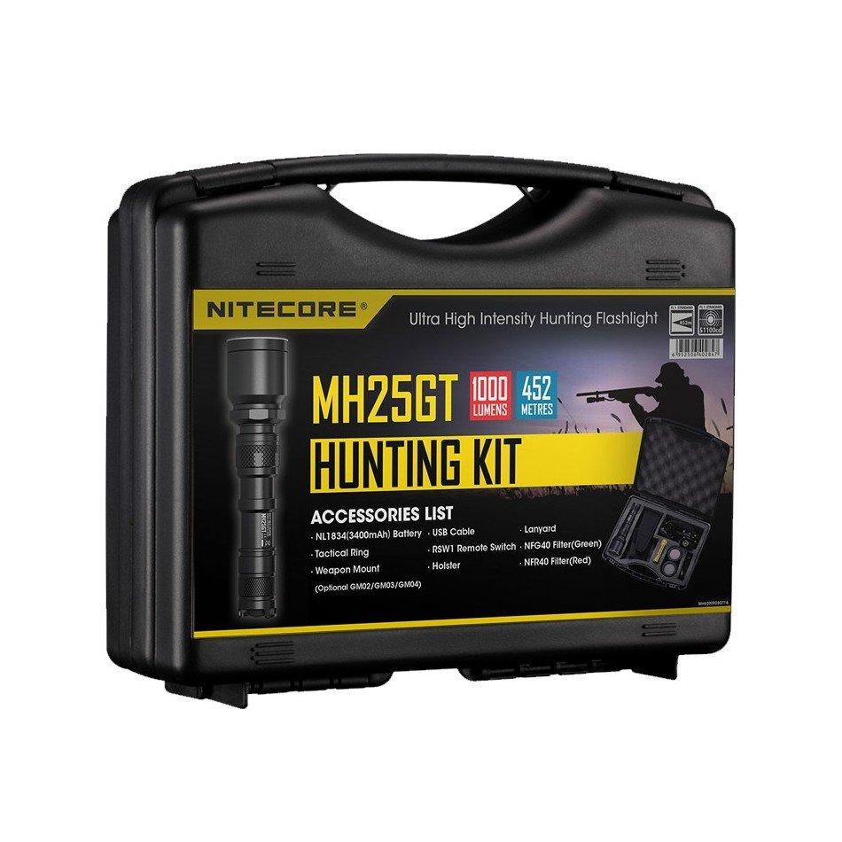 Комплект для охоты Nitecore Hunting Kit MH25GT