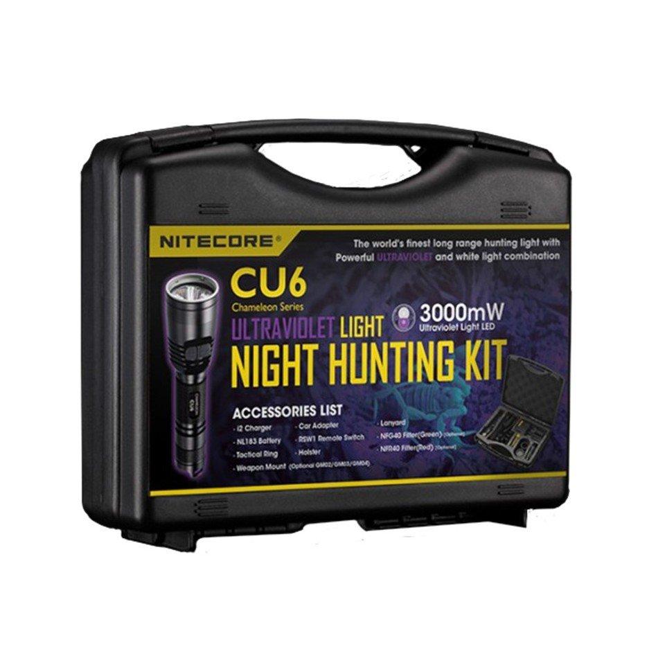 Комплект для охоты Nitecore Hunting Kit CU6 Ultraviolet