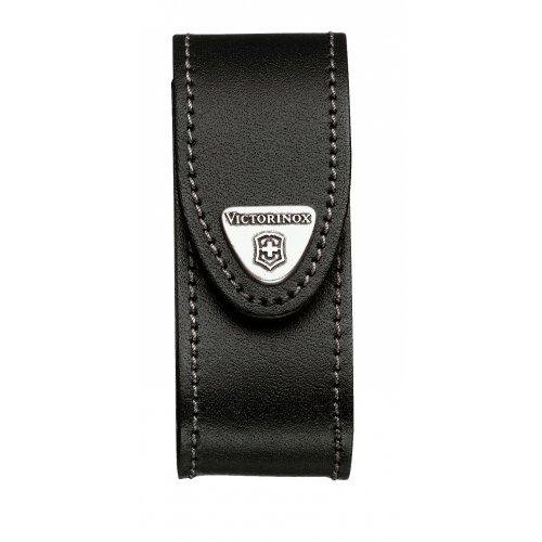 Чехол кожаный Victorinox черный 4.0520.32