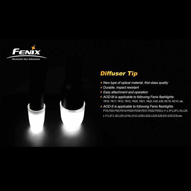 Диффузионный фильтр белый для Fenix PD31/PD32