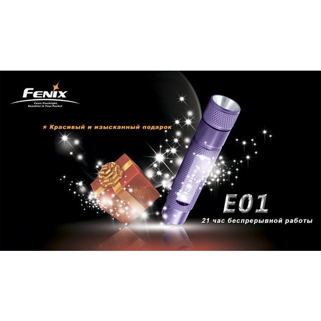 Fenix E01 вскрытый