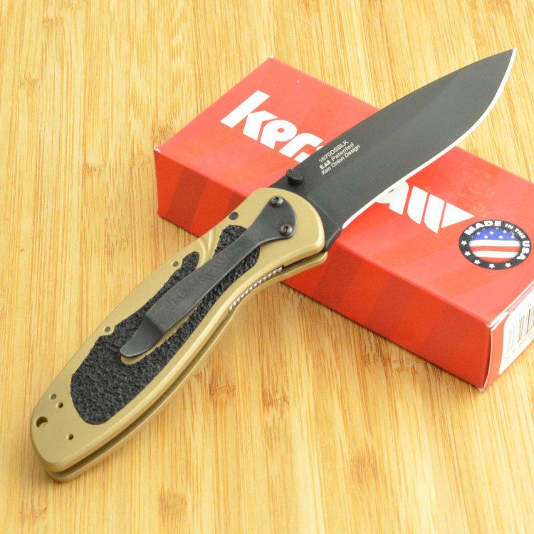 Складной нож Kershaw Blur 1670DSBLK