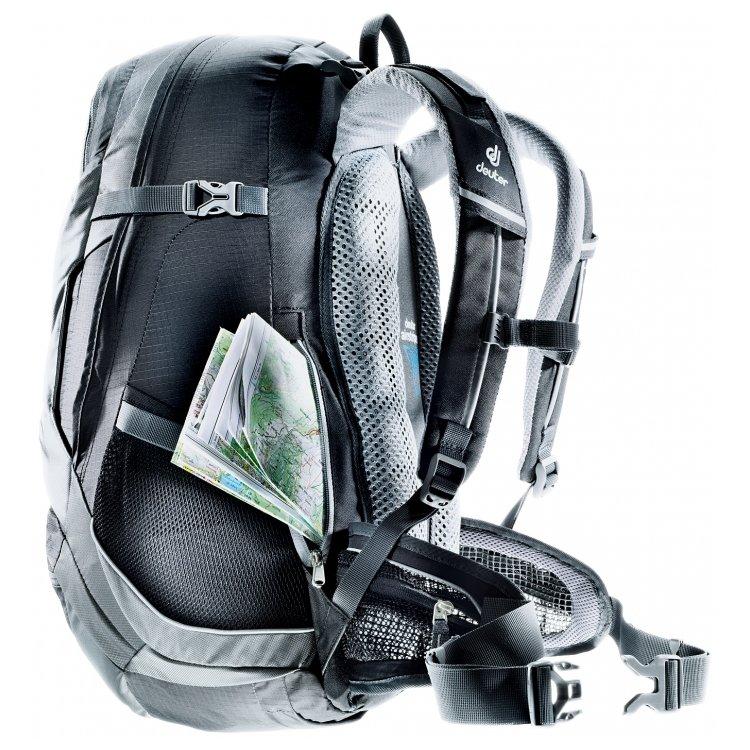 Рюкзак Deuter Trans Alpine 25 (черный, голубой)