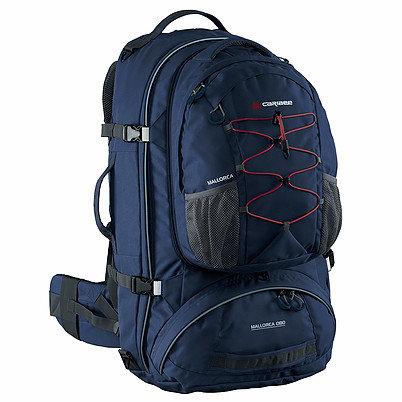 Рюкзак Caribee Mallorca, 80 л (серый, синий)