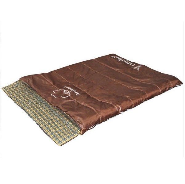 Спальный мешок одеяло Greenell Йол V2 коричневый (95725-224-00)
