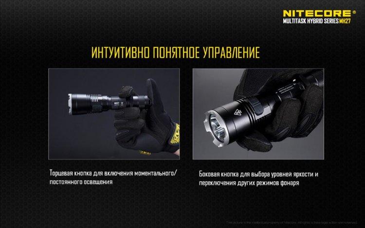 Фонарь Nitecore MH27
