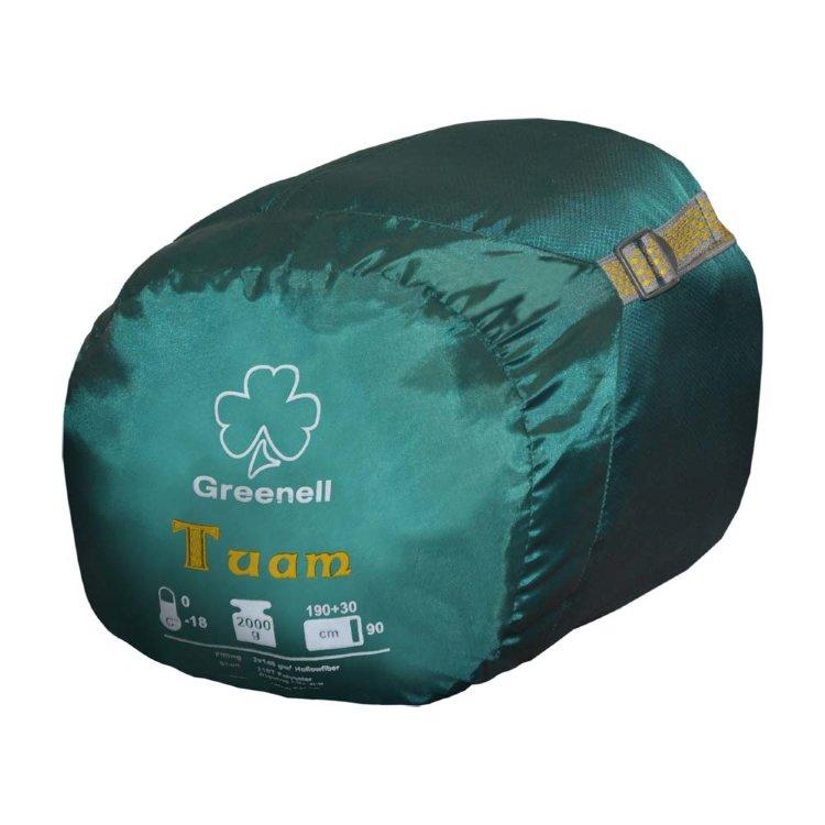 Спальный мешок Greenell Туам левый, зеленый (34033-303-Left)