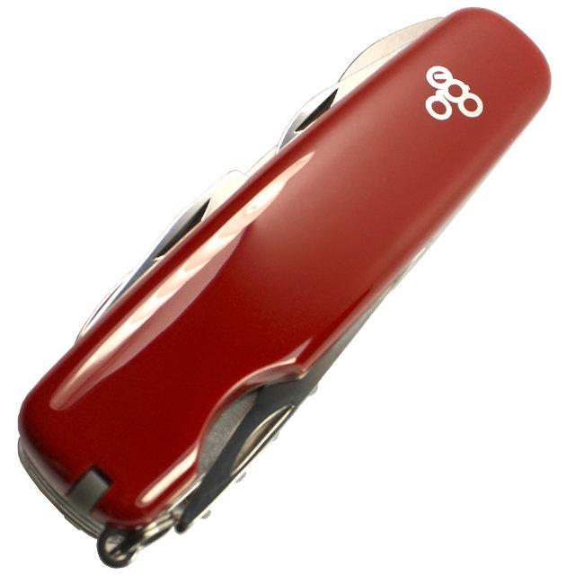 Нож Ego A01.10, красный