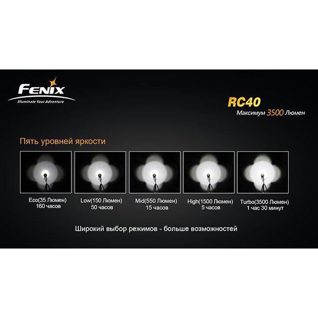 Фонарь Fenix RC40 Cree XM-L (U2)