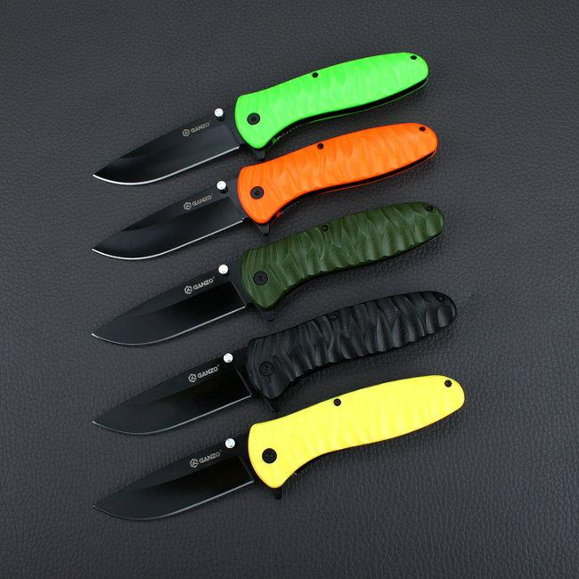 Нож Ganzo G622-Y-1, желтый