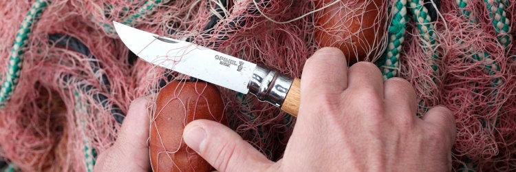 Нож Opinel №8, нержавеющая сталь, рукоять из бука, блистер