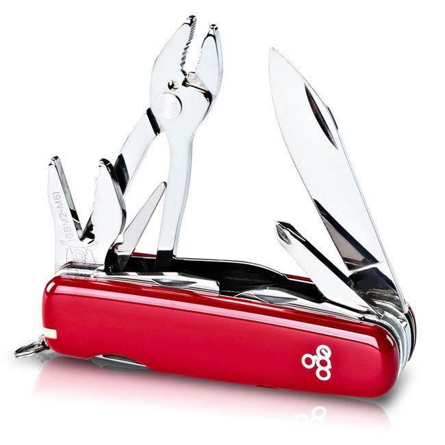 Нож Ego A01.11.1, красный