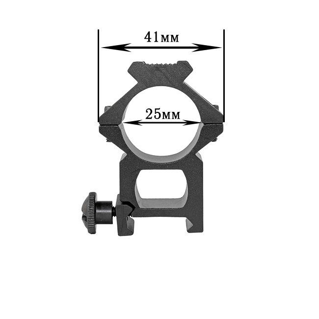 Крепление на оружие для фонаря 25GK-V2 (планка Вивера 19 мм)