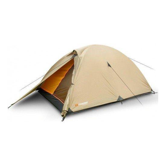 Палатка Trimm COMET, 2+1 (зеленая, песочная)