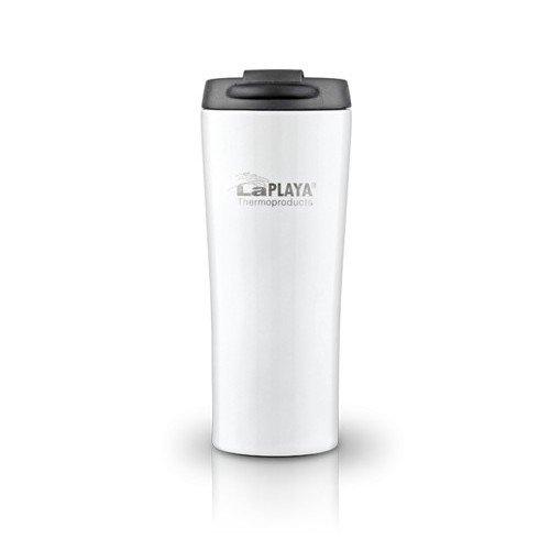 Термокружка LaPLAYA Vacuum Travel Mug, 0.4 л (белая, черная, серебристая)