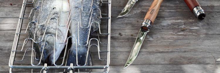 Нож филейный Opinel №10, нержавеющая сталь, рукоять бубинга