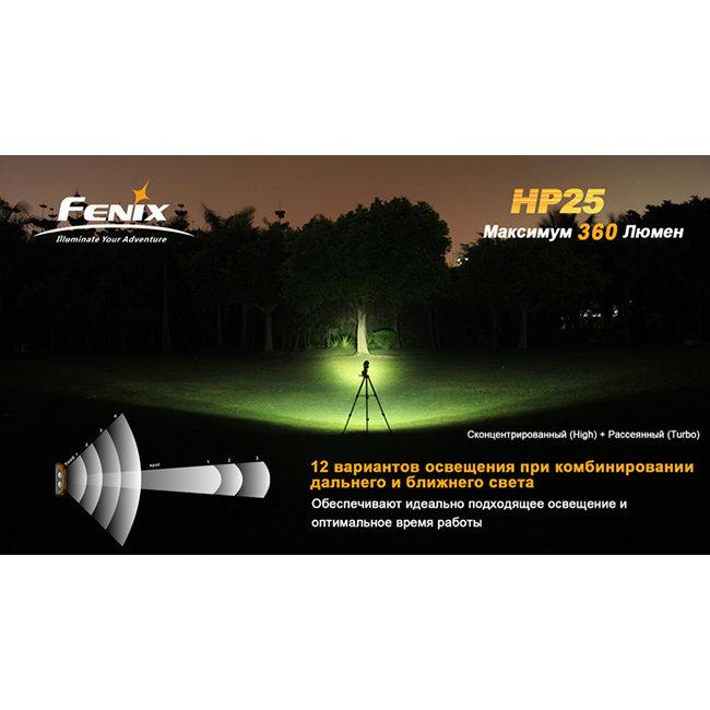 Фонарь Fenix HP25 CREE XP-E