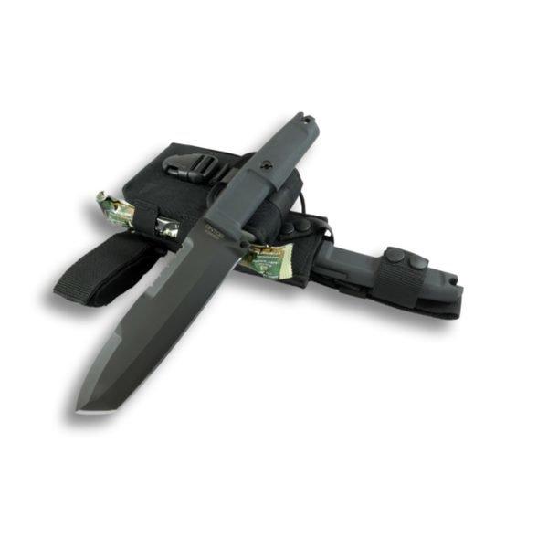 Нож Extrema Ratio Ontos+набор для выживания (черный)