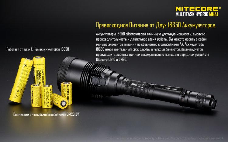 Фонарь Nitecore MH41