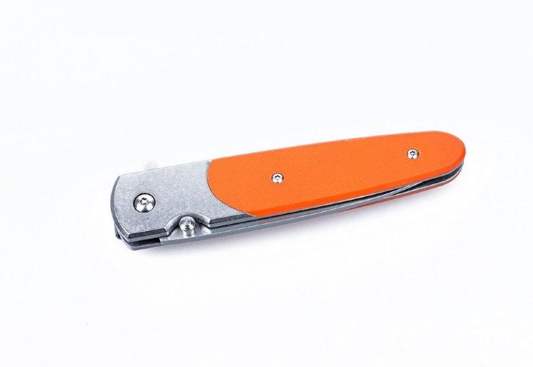 Нож Ganzo G743-2 (черный, оранжевый, зеленый)