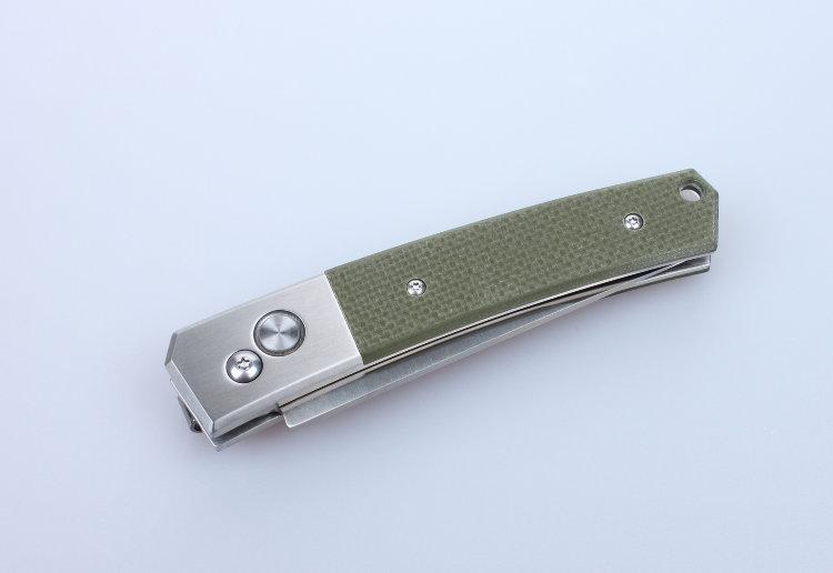 Нож Ganzo G7361 черный, зеленый, камуфляж
