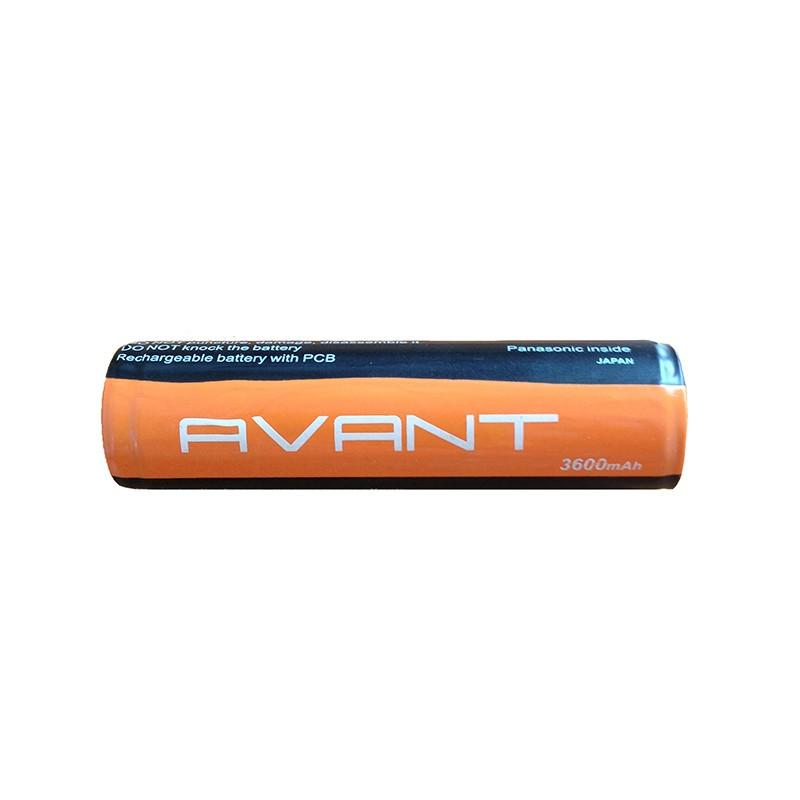 Аккумулятор 18650 3600mAh Avant с защитой